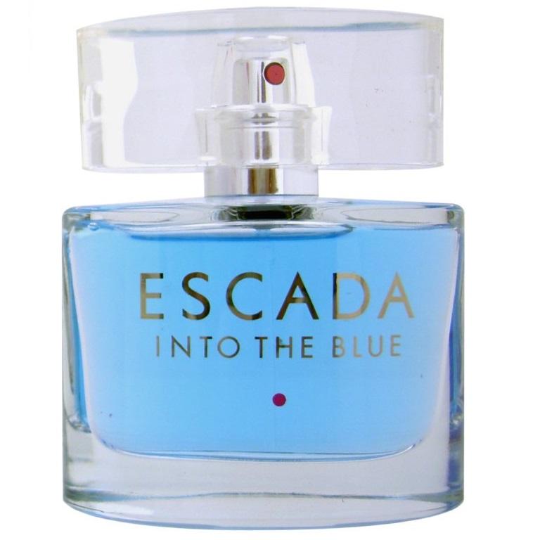 Into The Blue от Escada купить оригинальные духи инто зе блю от