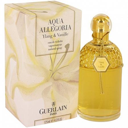 Guerlain Aqua Allegoria Ylang & Vanille купить. Отливанты духов на АллюрПарфюм от 1 мл.