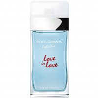 Light Blue Love Is Love Pour Femme